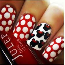 318 nail art mickey u003c3 images disney nails art