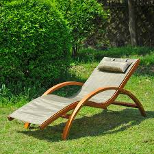 Pool Chaise Lounge Wooden Patio Chaise Lounge Chair Outdoor Furniture Pool Garden