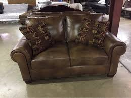 Ottoman Zoo Leather Seat With 2 Throws 299 Matching Ottoman 75 414 E