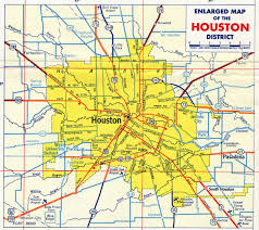 Texas On Map Of Usa by Of Houston