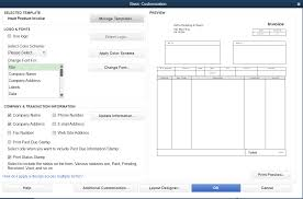 how to customize invoice templates in quickbooks pro merchant