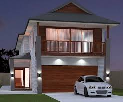house plans for narrow lots houseplans com small 2 story lot 12