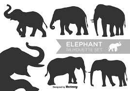 elephant free vector art 6776 free downloads
