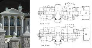 floor plans of mansions mansion home plans historic homes and mansions of mega