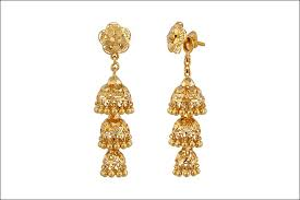 gold earrings jhumka design wedding earrings 16 designs that will woo you