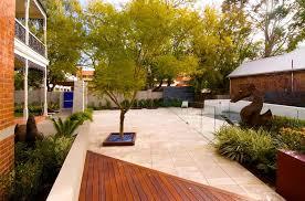 landscape ideas for small backyard no grass with small garden