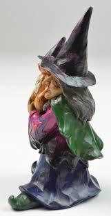 jim shore halloween figurines jim shore figurine heartwood creek mini witch resin 4034438