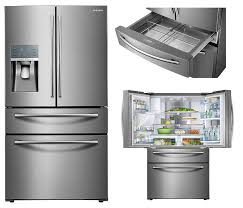 Samsung Kitchen Appliances Best Double Drawer French Door Refrigerators Reviews Ratings