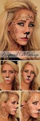 leopard halloween makeup ideas 25 super cool step by step makeup tutorials for halloween hative