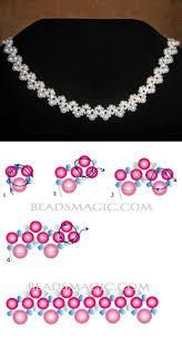 free pattern for necklace irvin 4 6 mm gömb 11 0 kása