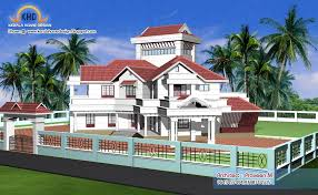 home plan and elevation 6544 sq ft kerala home