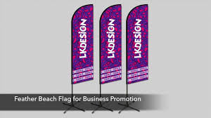 Custom Swooper Flags Customized Promotion Flag Beach Flag Advertising Flags