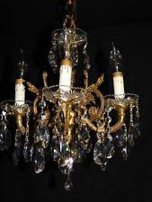 Brass Antique Chandelier Brass Antique Chandeliers Fixtures U0026 Sconces Ebay