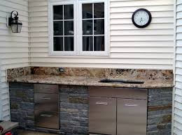 Best Outdoor Kitchens Images On Pinterest Modular Outdoor - Outdoor kitchen sink cabinet