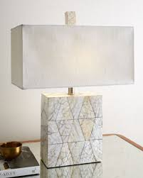 elegant mother of pearl table lamp regina andrew design mother of