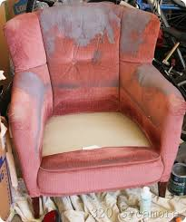 Painting Fabric Upholstery How To Paint Fabric Chairs 320 Sycamore