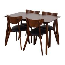 Dining Room Chairs Wholesale by 35 Off Wholesale Interiors Brown Dining Table Set With Four