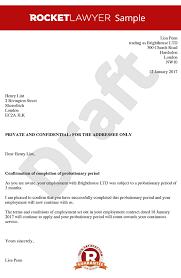 Confirmation Extension Letter Format letter