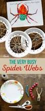 the very busy spider webs spider craft and eric carle