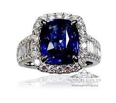 all sapphire rings images Taking care of sapphire ring JPG