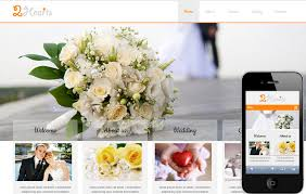 2hearts a wedding planner mobile website template by w3layouts