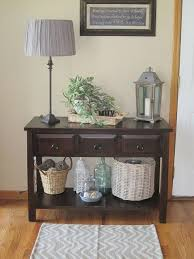 Entryway Table With Baskets Stunning Entryway Table With Baskets With Top 25 Best Entryway