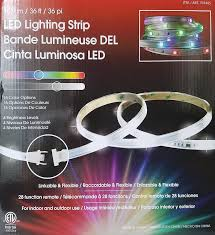 Sylvania Led Strip Lights by Amazon Com Tape Light 36 Foot Tape Light 3 12 Foot Lengths