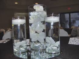 water centerpieces wedding centerpieces flowers submerged in water bridal