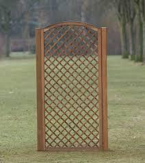 Wooden Trellis Panels Hardwood Arched Trellis 90cm