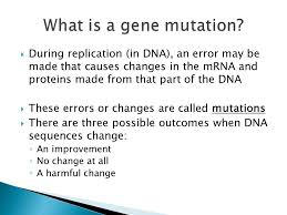 what is chagne made of during replication in dna an error may be made that causes
