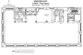 Warehouse Loft Floor Plans Private Event U0026 Wedding Space Manhattan Midtown Loft U0026 Terrace