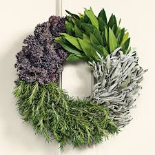 herb wreath cook s herb wreath williams sonoma