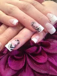 glitter french tip nail designs choice image nail art designs