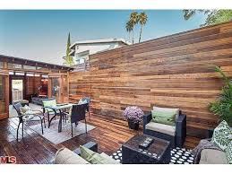 Deck In The Backyard Newlywed Zoe Saldana Sells Los Angeles Home For 1 149 Million