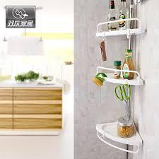 bathroom shelves with towel bar hooks stainless steel standing