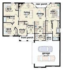 3 bed 2 bath house plans 3 bedroom 2 bath house plans home design ideas