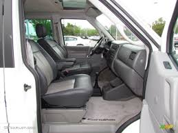 volkswagen eurovan camper interior 2002 volkswagen eurovan gls interior photos gtcarlot com