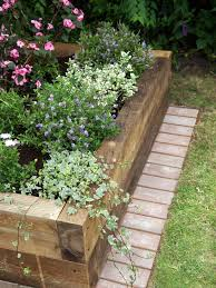easy raised bed gardening 4 x 6 landscape timbers make a nice