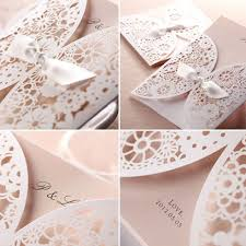 lace wedding invitations affordable laser cut blush pink lace wedding invitation