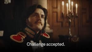 Challenge Gif Challenge Accepted Fedya Dolokhov Gif By Australia