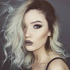 coloured hair for 2015 grand grey ombré grey hair colour inspiration popsugar beauty