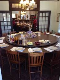 dining table with rotating table buffet picture of dinner bell mccomb tripadvisor