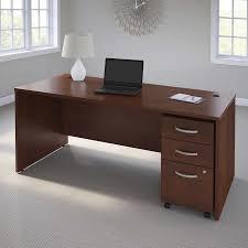 Business Computer Desk Business Office Pro Computer Desk With 3 Drawer Mobile Pedestal