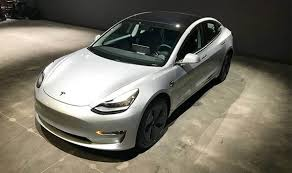 tesla model 3 for sale used electric car emerges but it comes