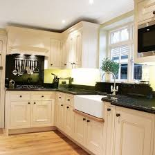 kitchen l ideas l shaped kitchen design ideas black countertops white cabinets