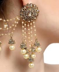 beautiful ear rings buy beautiful golden earrings aprm7091 at 19 17