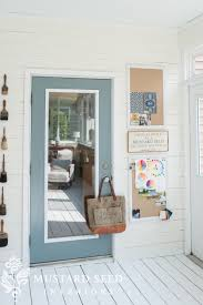 How To Paint An Interior Door by Trim For Days Grays Doors U0026 Glass Knobs Miss Mustard Seed