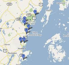 map of camden maine camden maine beaches takeme2 camden maine
