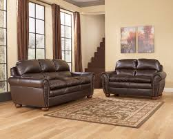 Ashley Furniture Leather Sectional With Chaise Furniture Features Infinite Positions For Comfort With Durablend