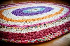 Crochet Tshirt Rug Pattern T Shirt Rugs Crochet Rugs Ideas